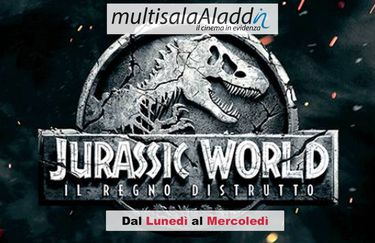Cinema Aladdin - Locandina Jurassic World