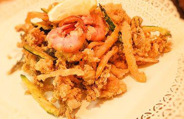 rotonda bruscoli - fritto pesce