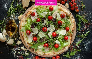 Ristorante Pizzeria Il Contadino - Pizza grana e pomodorini