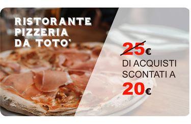 Ristorante Pizzeria da Totò - Card