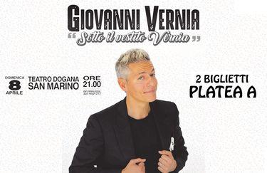 Giovanni Vernia - Teatro