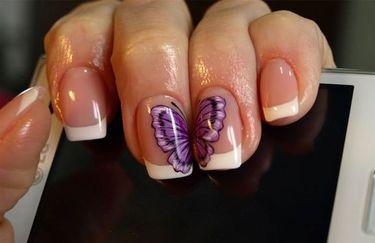 Nail Art - Farfalla