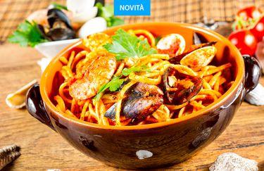 Ristorante Pizzeria M'eatinig - Spaghetto Chitarra allo Scoglio