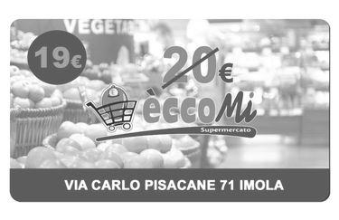 Supermercato Eccomi - Buono Spesa