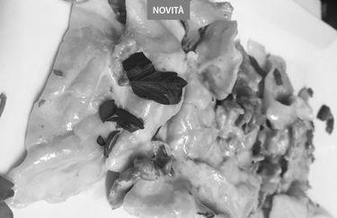 Osteria Il Paiolo - Agnoletti di Stridoli al Salmone
