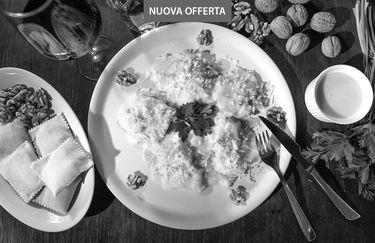 Trattoria La Villa Matta - Tortelli di Pecorino e Noci