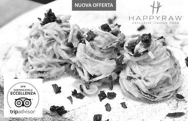 Ristorante HappyRaw - Carbonara Fruttariana