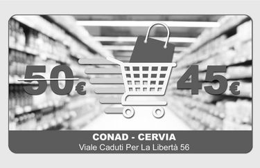 Conad Cervia - Buono Spesa