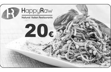 Ristorante HappyRaw - Card