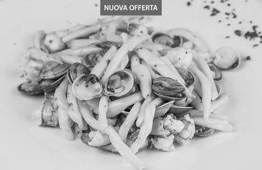 Ristorante Pizzeria Ranch - Strozzapreti con Vongole e Gamberetti