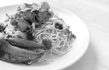 rotonda bruscoli - spaghetti astice