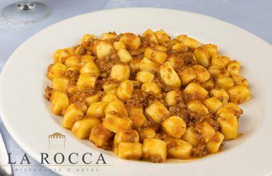 Albergo Ristorante La Rocca - gnocchi