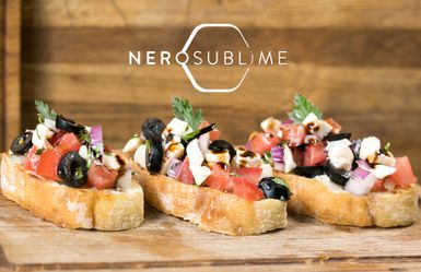 Nero Sublime - Bruschette