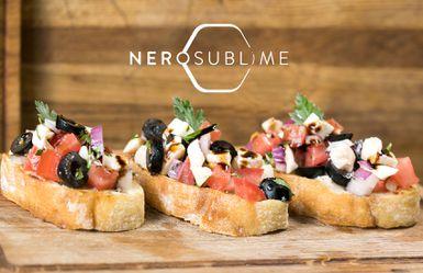 Nero Sublime - Bruschette