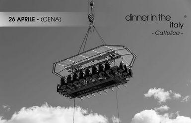 dinner in the sky - cena 26 aprile