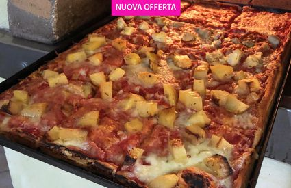 low cost cafe - teglia pizza