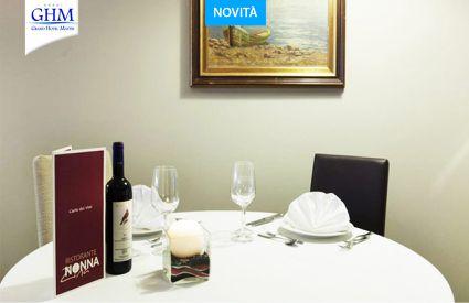 Ristorante Nonna Zina c/o Grand Hotel Mattei - tavolo