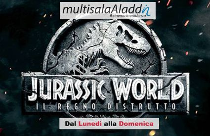 Cinema Aladdin - Jurassic World Locandina