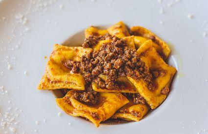 Osteria Santa Marina - Tortelli
