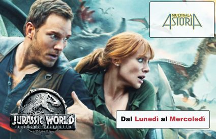 Cinema Astoria - Locandina Jurassic World