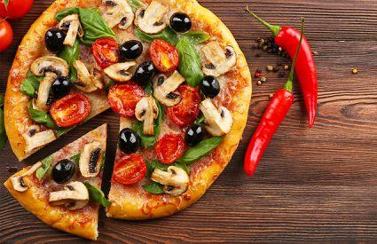 Pizzeria Pinco Pallino - Pizza Funghi