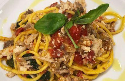 aqua salata - spaghetti pesce