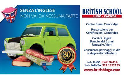 British School - locandina-logo