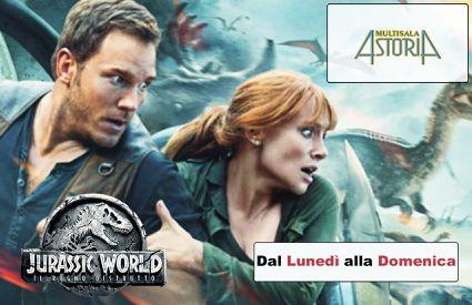 Cinema Astoria - Locandina Jurassic World Il Regno Distrutto