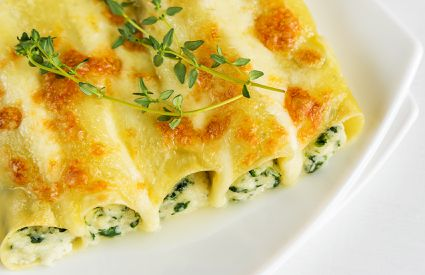 Nuova Mille Carni - Cannelloni Spinaci
