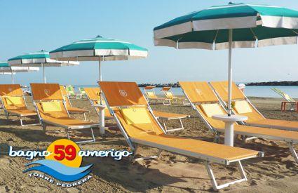 Bagno 59 Amerigo - Lettini