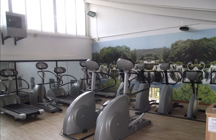 Palestra Hard Work - Sala Fitness