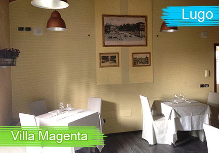 Ristorante Villa Magenta Lugo Menu