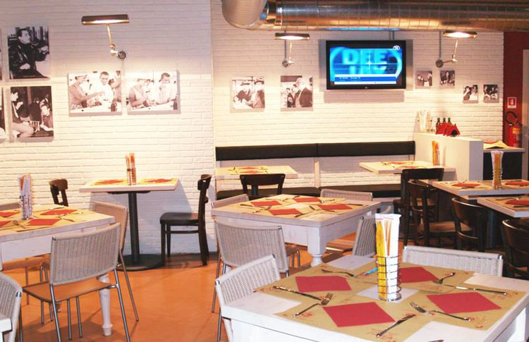 Pizzeria Greenwich - interno