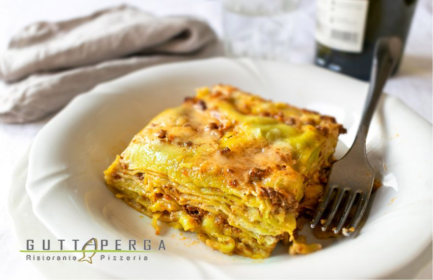 Guttaperga - Lasagna