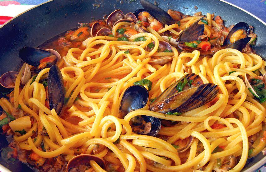Ristorante Ustareia - Spaghetti allo scoglio