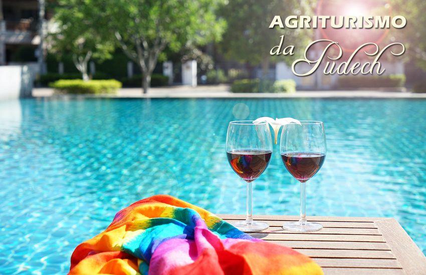 Agriturismo Da Pudech - piscina vino